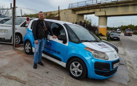 La rusa de los taxis usados